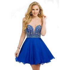 Vestido de festa curto 2017 Blue Hand Beading Sweetheart Homecoming Dresses Short Graduation Gowns Mini Party Prom Gowns