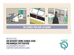 東京メトロとパリ地下鉄、マナーポスターから見る日仏の国民性の違い - Excite Bit コネタ(2/2)