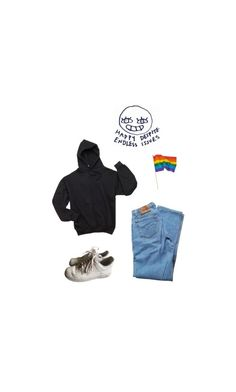 """""""the wave"""" by jaxdm ❤ liked on Polyvore featuring NIKE and Levi's"""