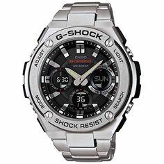 G-Shock Men's G-Steel Watch, Stainless Steel/Black, One Size Casio