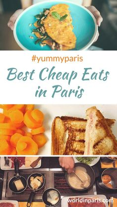 Check out the best cheap eats in Paris, best cheap food in Paris to eat for a few euros. From crêpes to onion soup, the list of Paris cheap eats is long! Paris Street Food, Paris Food, Best Street Food, Paris France Food, Restaurants In Paris, Le Marais Paris, Paris Paris, Cheap Eats Paris, Popular Recipes