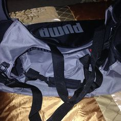 Check out Puma gym sport large bag nice excellent condition on Threadflip!