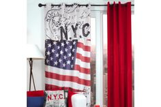 Voilage NYC Nyc, Stores, Decoration, Curtains, Prints, York, Home Decor, Carnations, Home