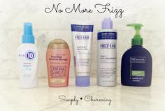 Products to conquer frizz! no more frizz!