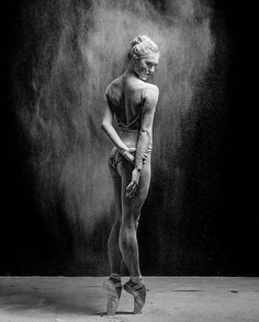 Ballerina Expresses Raw Emotions through Portraits of Delicate Dance Movements
