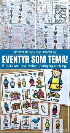 Eventyr | Undervisning: Å arbeide med eventyr som tema! | Malimo Arts And Crafts, Comics, Poster, Comic Book, Art And Craft, Comic Books, Comic, Comic Strips, Graphic Novels