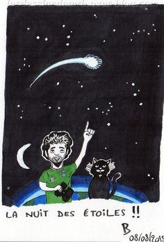 #nuitdesétoiles   #étoile   #planète   #étoilefilante   #cosmos   #astronomie   #mangaink   #copicciao   #pigmamicron   #chat   #chatnoir   #cat   #blackcat   #lune   #blog   #blogbd