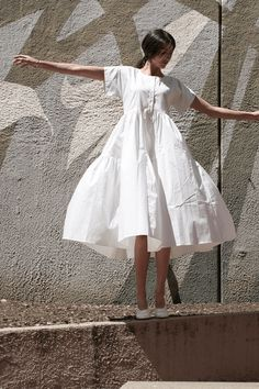 New dress summer cotton outfit ideas White Dress Outfit, Casual Dress Outfits, Casual Summer Dresses, Trendy Dresses, Spring Dresses, Nice Dresses, White Casual Dresses, White Dress Summer, Ladies Dresses