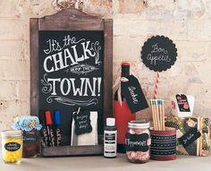 Chalkboard crafts to make