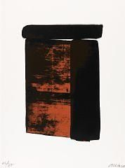 Sérigraphie no. 12 By Pierre Soulages ,1979
