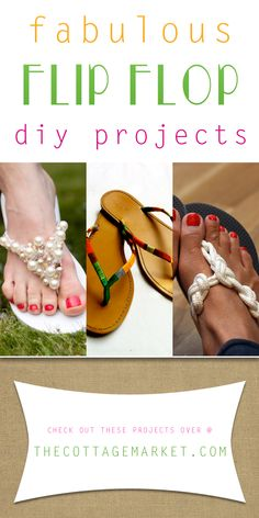 Fabulous Flip Flop DIY Projects - The Cottage Market