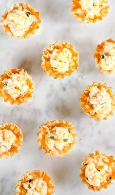 Ham & Cheese Phyllo Cups – Celebrations at Home delicious party appetizers or brunch bites, ham & cheese phyllo cups recipe for entertaining Phyllo Cups, Wonton Cups, Phyllo Dough, Phyllo Recipes, Appetizer Recipes, Snack Recipes, Dip Recipes, Muffin Recipes, Pizza Recipes