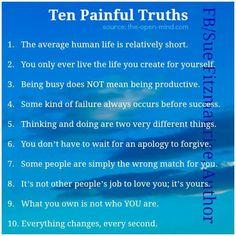 Ten Painful Truths..