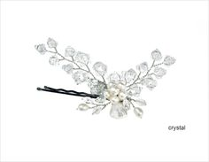 Floral Sprig Bobby Pin
