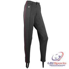 Viga Athletic Trackster Running Training Fitness Pants / Leggings Black/Red rrp£30