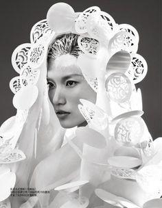 Harper's Bazaar China. Paper Sculpture. May 2012. Trunk Xu - Photographer. Danni Li - Modelv - Google Search