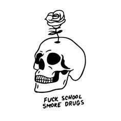 Sharpie Tattoos, Sugar Skull Tattoos, Sugar Skull Art, Skull Illustration, Ink Illustrations, Skull Sketch, Spooky Tattoos, Skeleton Art, Tattoo Ideas