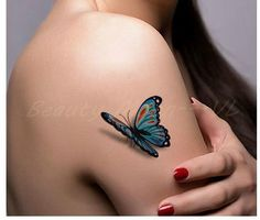 3D butterfly tattoo - Google Search