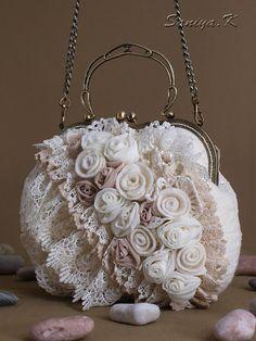 "Eco Boho handmade Bag ""Boho 1"" (felted eco-friendly boho-chic bags buy)"