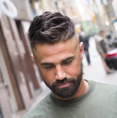 Fade haircuts for men are still some of the most popular men's haircuts to get. Check out these brand new fresh men's fade haircut styles! Fade Haircut Styles, Best Fade Haircuts, Cool Hairstyles For Men, Cool Haircuts, Hair And Beard Styles, Haircuts For Men, Curly Hair Styles, Men's Hairstyles, Medium Hairstyles