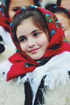 Girl from Maramureș, Romania
