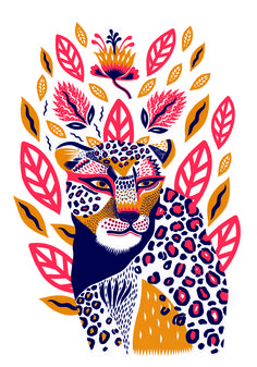 Margaux carpentier illustration of animals petit monkey poster wild animals 50 x 70 cm illustration art design wildlife tropical elephant tiger cheetah toucan Art And Illustration, Illustration Inspiration, Illustration Design Graphique, Art Graphique, Illustrations And Posters, Animal Illustrations, Character Illustration, Art Inspo, Inspiration Art