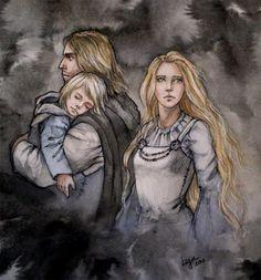 Faramir, Eowyn and son