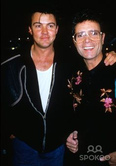 Cliff Richard with Paul Young A1130 Photo by Alpha-Globe Photos, Inc.