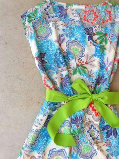 Whimsical Summer Floral Dress