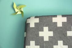 fitted crib sheet in charcoal plus one by Ivie Baby