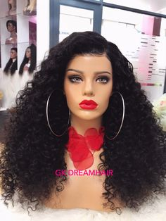 GK 5 Bundles of Luxurious Curls and illusion Frontal. Durban South Africa, Wig Cap, West Palm, Illusions, Your Hair, Curls, Curly Hair Styles, Wigs, Luxury