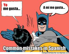 Common mistakes in Spanish #LearnSpanish