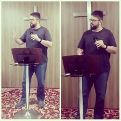 Ensinando #História da #Bíblia no Ministério Defesa da #Fé.  Teaching #Bible #History at Defense of #Faith Ministries.