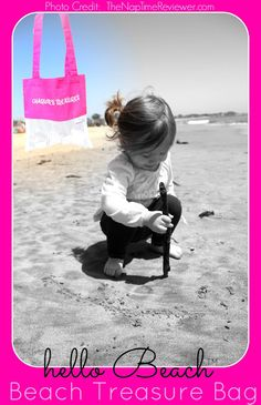 The NapTime Reviewer - 'Reviewing the World One Nap at a Time': Hello Beach - Mesh Beach Treasure Bags + Giveaway Ends 7/19