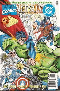 Marvel Versus DC / DC Versus Marvel #3 (Apr 1996, Marvel)