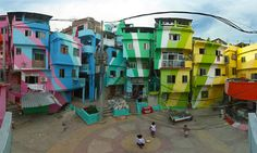 Favela Painting Foundation Is Using Art To Rejuvenate Brazil's Slums
