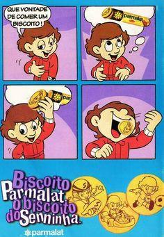 Biscoito Parmalat do Senninha #nostalgia