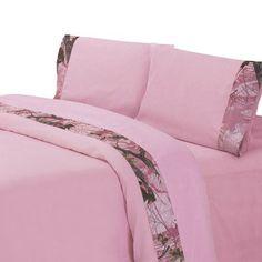 Loon Peak Shoreham Sheet Set. Pink U0026 Camo BedroomFlat SheetsBed ...