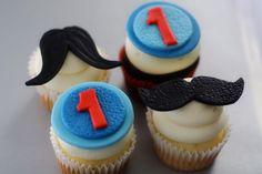 Fondant Mustache Cake Topper