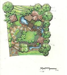 landscape design drawings water sensitive - google search