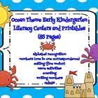 Ocean Theme Summer School Kindergarten