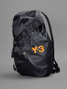 aa073ba18451 Y-3 BACKPACK WITH ZIPPED FRONT AND ONE INTERNAL ZIPPED POCKET HEIGHT  50CM  WIDTH