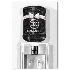 Chanel Decor, Chanel Art, Chanel Room, Chanel Perfume, Coco Chanel, Canvas Art Prints, Canvas Wall Art, Wall Collage, Fashion Themes