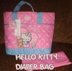 ⓗⓔⓛⓛⓞ ⓚⓘⓣⓣⓨ  diaper bag