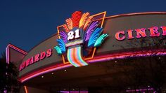 Edwards Theater at River Park.. Shopping mall..Fresno, California