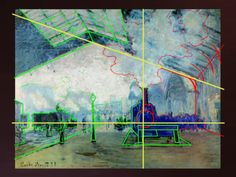 Emphasis can make your eyes wander around a painting or focus on a single point.