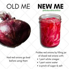 Pickled Red Onions, Food Security, Healing Herbs, Food Waste, Canning Recipes, Budget Meals, Plant Based Recipes, Pickles, Cooking Tips