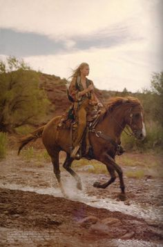 Ride cowgirl...