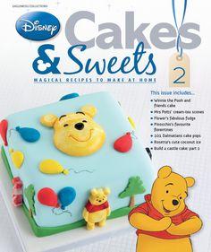 Who deserves this cute birthday cake? We do! #disneycakesandsweets