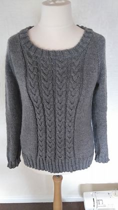 Ravelry: bexf84's Cabled Sweater (Test Knit)